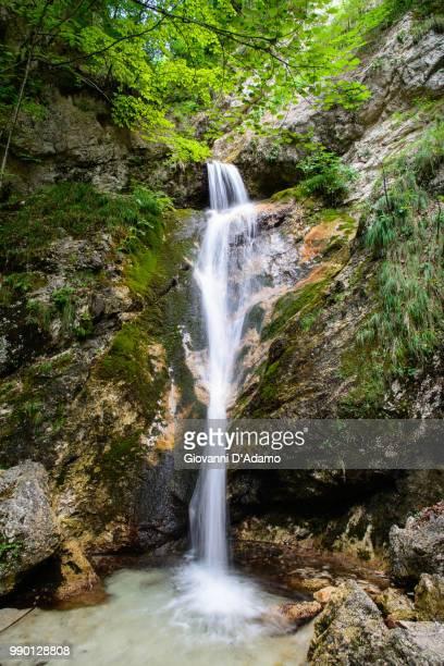 Waterfall at La Camosciara