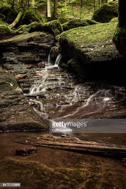 Waterfall at Monbach valley