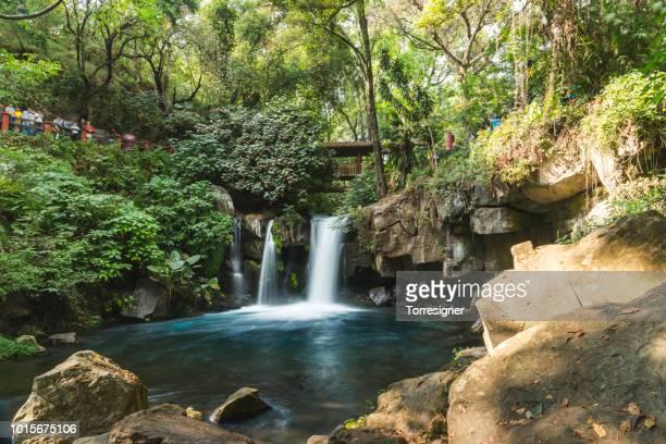 Waterfall at the Uruapan National Park. Michoacan - Mexico.