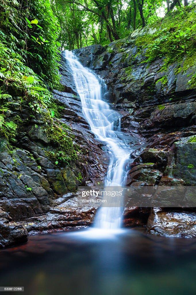 Waterfall at Yilan : Foto stock