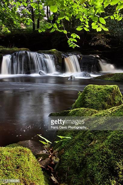 Waterfall below Ladybower Reservoir