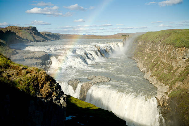 Waterfall Gullfoss
