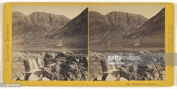 Waterfall in Glencoe James Valentine 1870s Albumen silver print
