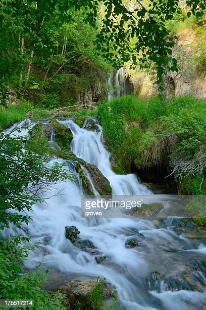 Waterfall in Spearfish Cayon South Dakota  XXXL