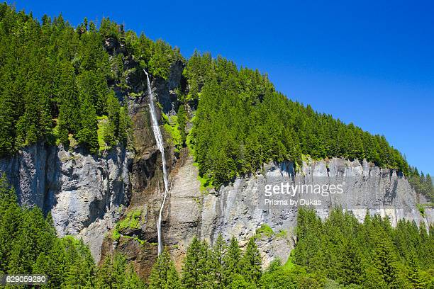 Waterfall in the Bernese Oberland Switzerland
