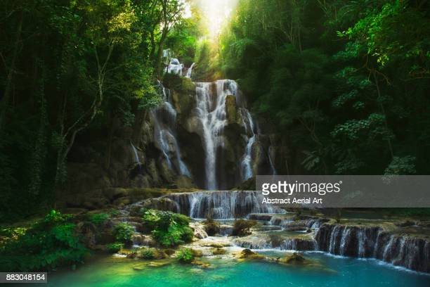 Waterfall in the forests of Laos