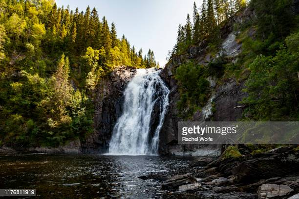 waterfall landscape - rachel wolfe stock photos and pictures