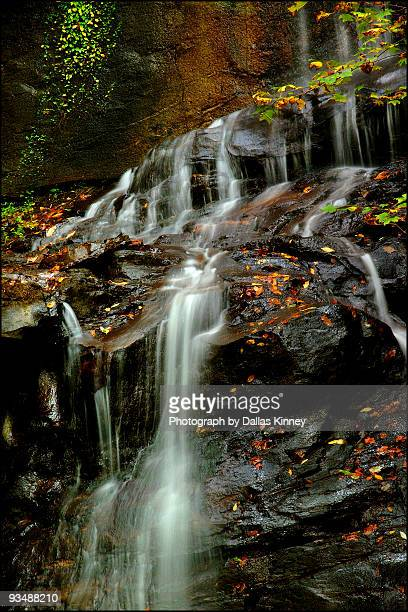waterfall: lower desoto - national forest stock pictures, royalty-free photos & images