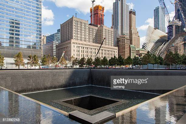 Waterfall Memorial World Trade Center