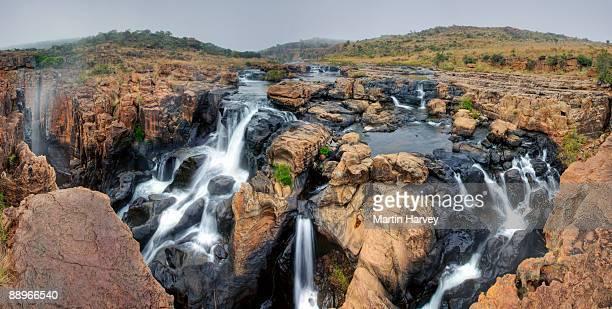 Waterfall near Bourke Luck?s Potholes.