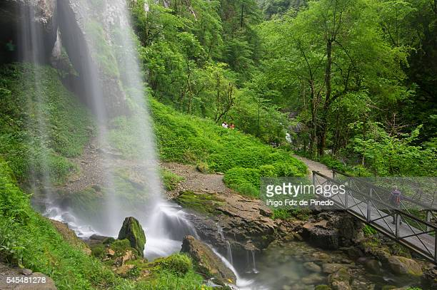 Waterfall of Kakueta- Zuberoa- France