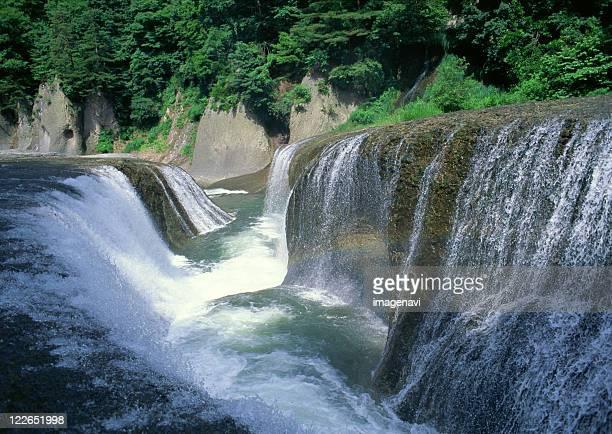 waterfall - gunma - fotografias e filmes do acervo