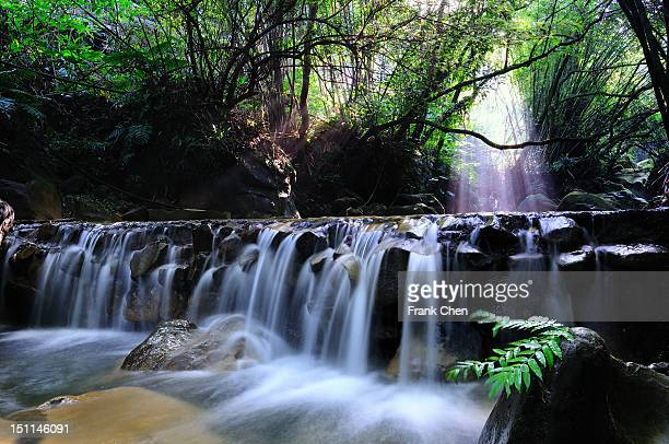 waterfall - new taipei city stock pictures, royalty-free photos & images
