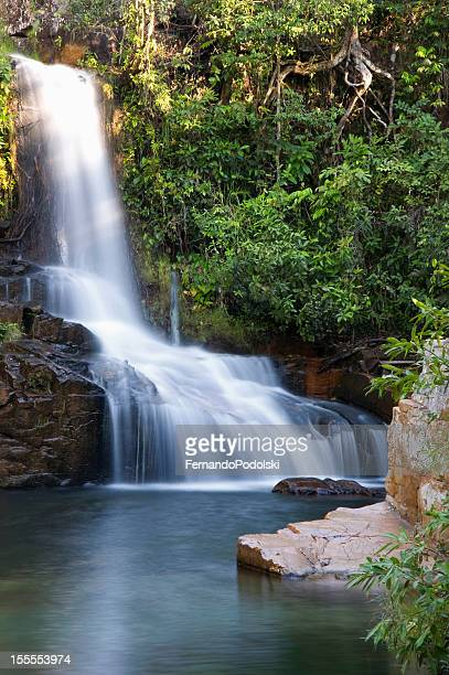 waterfall - mato grosso state stock pictures, royalty-free photos & images