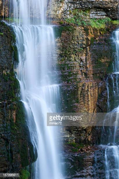 waterfall - isere stock pictures, royalty-free photos & images