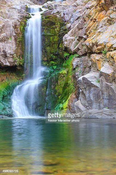 waterfall - cordoba argentina fotografías e imágenes de stock