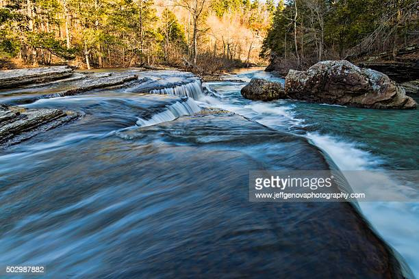 waterfall - ozark mountains stock pictures, royalty-free photos & images