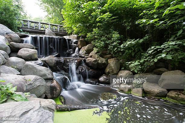 waterfall - プロスペクト公園 ストックフォトと画像