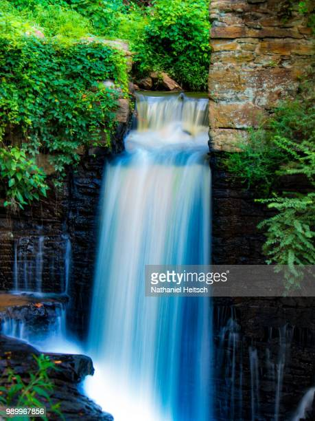 waterfall - nathaniel woods stock pictures, royalty-free photos & images