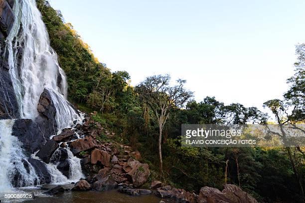 Waterfall river Brazil