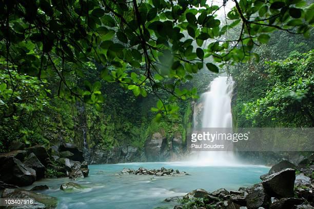 Waterfall, Tenorio Volcano, Costa Rica
