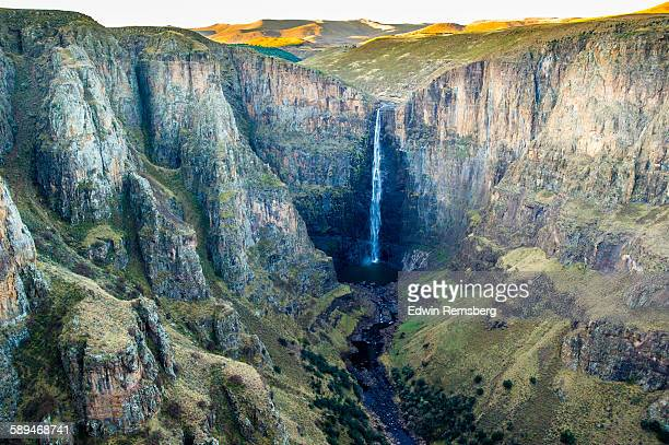 Waterfall valley