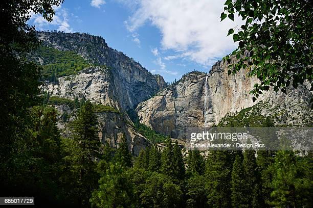 Waterfall, Yosemite Valley, Yosemite National Park