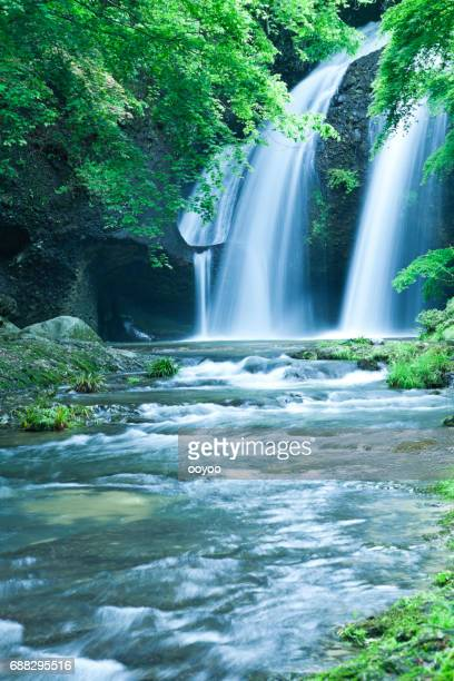 Waterfalls and Stream Landscape in Japan