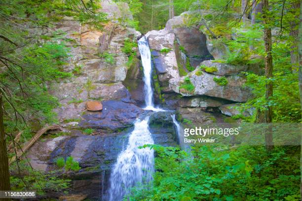 waterfalls in kent in northwest ct - barry wood stock pictures, royalty-free photos & images