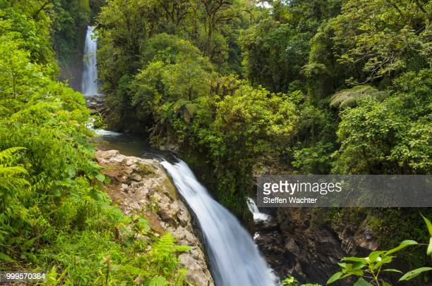 Waterfalls in the rainforest, Vara Blanca, Alajuela province, Costa Rica