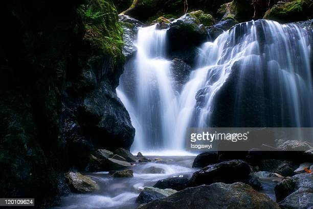waterfalls - isogawyi stock pictures, royalty-free photos & images