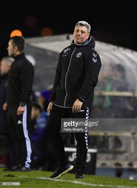 Waterford Ireland 12 March 2018 Bohemians manager Keith Long during the SSE Airtricity League Premier Division match between Waterford and Bohemians...