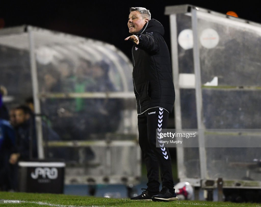 Waterford , Ireland - 12 March 2018; Bohemians manager Keith Long during the SSE Airtricity League Premier Division match between Waterford and Bohemians at Waterford Regional Sports Centre in Waterford.
