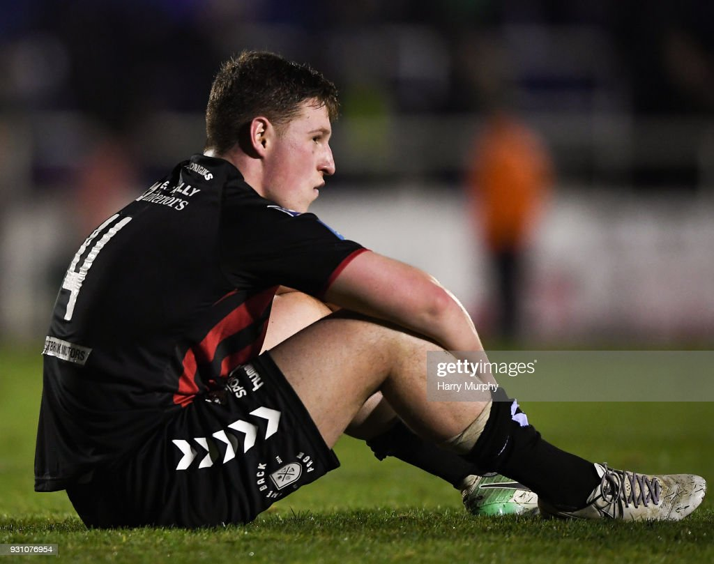 Waterford , Ireland - 12 March 2018; Dan Casey of Bohemians after the SSE Airtricity League Premier Division match between Waterford and Bohemians at Waterford Regional Sports Centre in Waterford.
