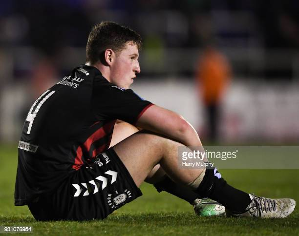 Waterford Ireland 12 March 2018 Dan Casey of Bohemians after the SSE Airtricity League Premier Division match between Waterford and Bohemians at...