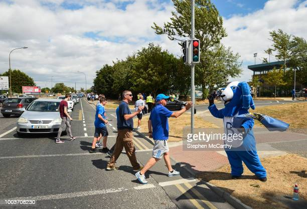 Waterford Ireland 22 July 2018 Waterford supporters prior to the SSE Airtricity League Premier Division match between Waterford and Shamrock Rovers...