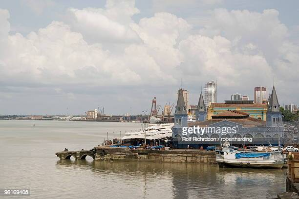 Waterfront and River Amazon, Belem, Para, Brazil, South America