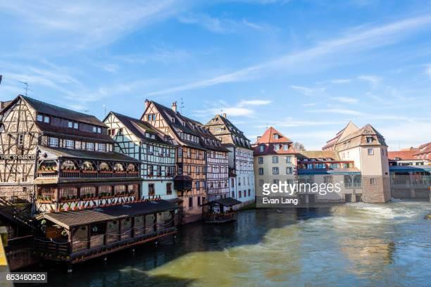 Waterfront Buildings in Petite France - Strasbourg