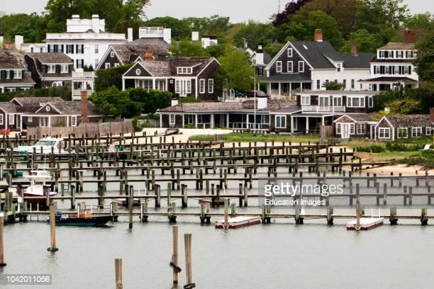 Waterfront in Edgartown Marthas Vineyard Massachusetts