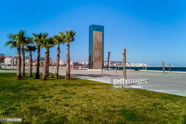 waterfront of tangier, morocco - pierre yves babelon stock pictures, royalty-free photos & images