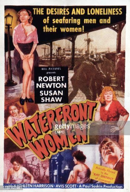 Waterfront poster Susan Shaw Kathleen Harrison 1950
