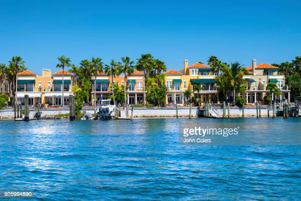 waterfront residences, tampa, florida - tampa stock pictures, royalty-free photos & images