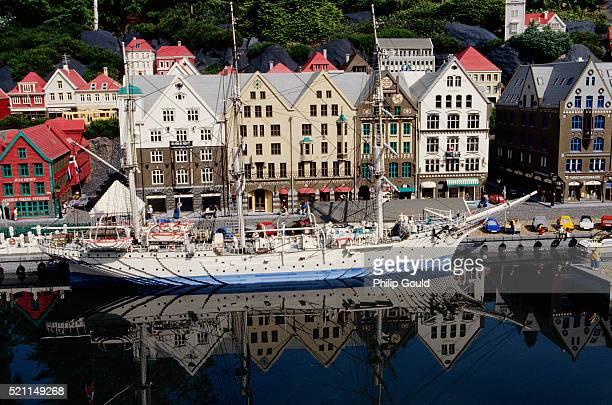Waterfront Scene in Legoland