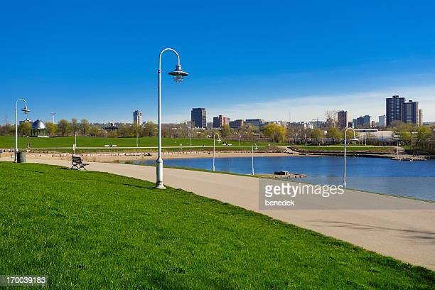 Waterfront Trail at Bayfront Park in Hamilton Ontario Canada