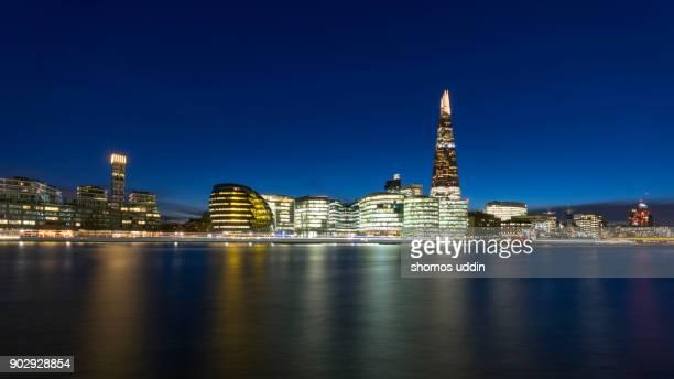 uk london panoramic view across south