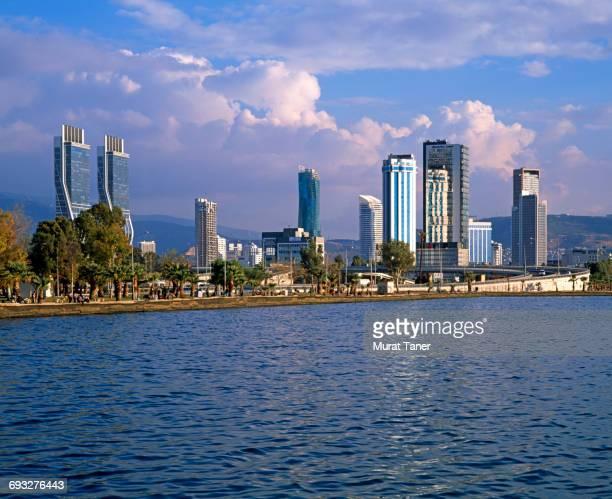 Waterfront view of the Bayrakli Distrcit of Izmir