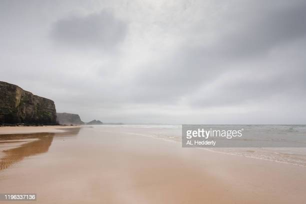 watergate bay beach - seascape stock pictures, royalty-free photos & images