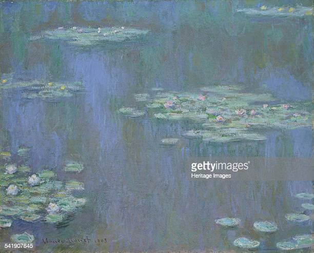Waterlilies' 1905 Artist Claude Monet
