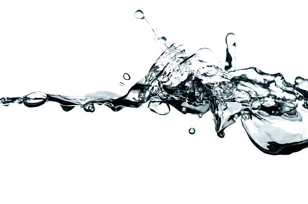 Waterline With Splash And Bubbles Wall Art