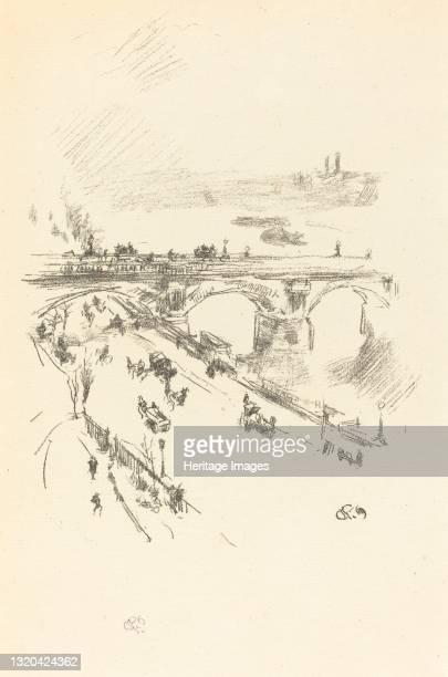Waterloo Bridge, 1896. Artist James Abbott McNeill Whistler.